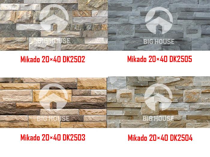 Các sản phẩm có thiết kế đá cổ xếp chồng rất đặc biệt. Ngoài ứng dụng cho mặt tiền bạn có thể sử dụng ốp trụ cổng hoặc nội thất.