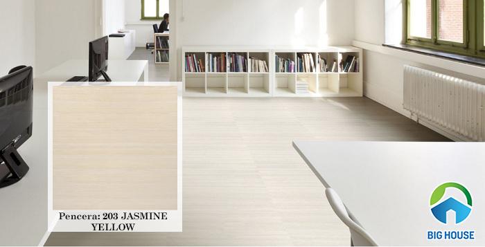 203 JASMINE YELLOW nằm trong bộ sưu tập gạch vân gỗ của Pancera.