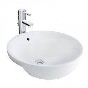 Chậu lavabo bán âm bàn Inax L-333V(EC/FC)