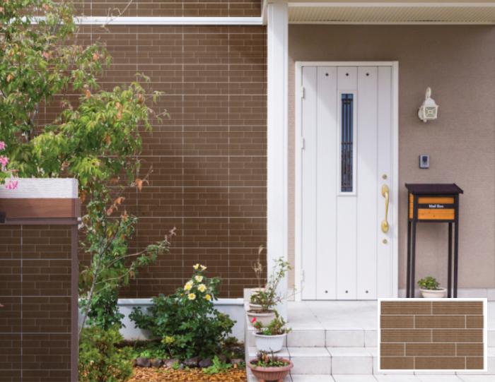 Gạch Prime còn được ứng dụng để ốp mặt tiền, giúp tăng tính thẩm mỹ cho diện mạo ngôi nhà
