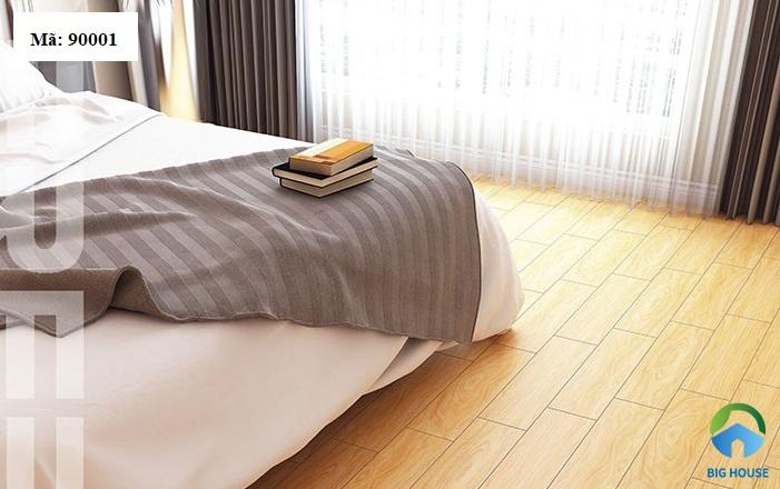 gạch lát nền phòng ngủ hoàn mỹ 9001