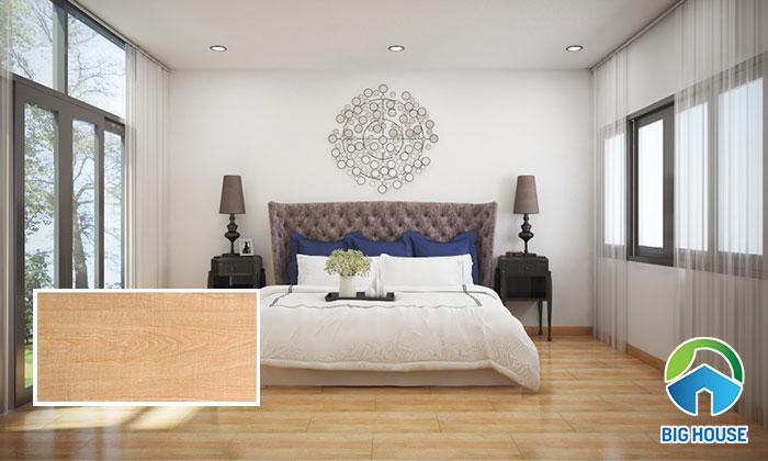 Gạch 4080GOSAN005 mang đến sự ấm cúng, tinh tế cho không gian. Khi sử dụng mẫu gạch này, bạn nên chọn nội thất đơn giản, tone màu tươi sáng sẽ càng giúp tăng tính thẩm mỹ.