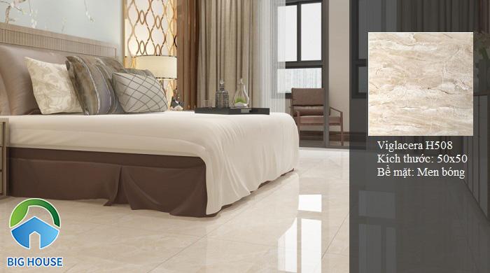 Gạch lát nền phòng ngủ Viglacera H508