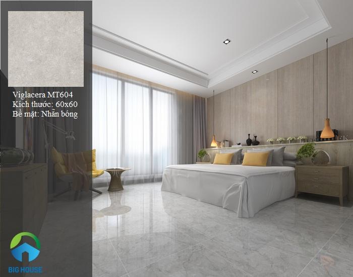 gạch lát phòng ngủ Viglacera MT604