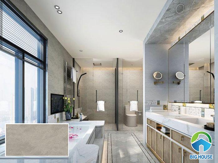 gạch ốp tường nhà tắm viglacera