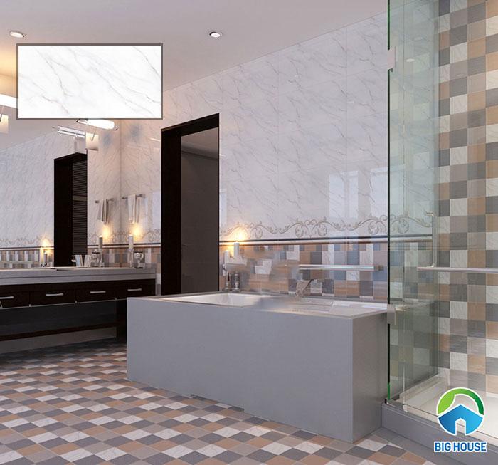 gạch ốp nhà tắm viglacera UB3603