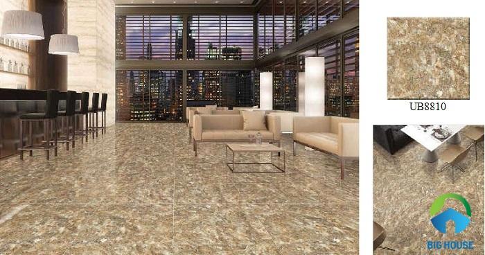 Gạch giả đá hoa cương siêu ấn tượng và đẳng cấp của Viglacera thích hợp với những căn hộ mang lối kiến trúc hiện đại