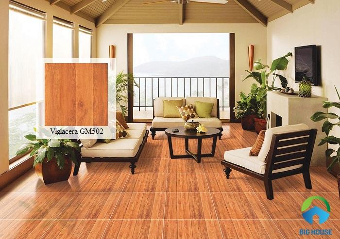 Kiểu dáng và họa tiết của gạch Viglacera 50x50 GM502 được rất nhiều khách hàng yêu thích