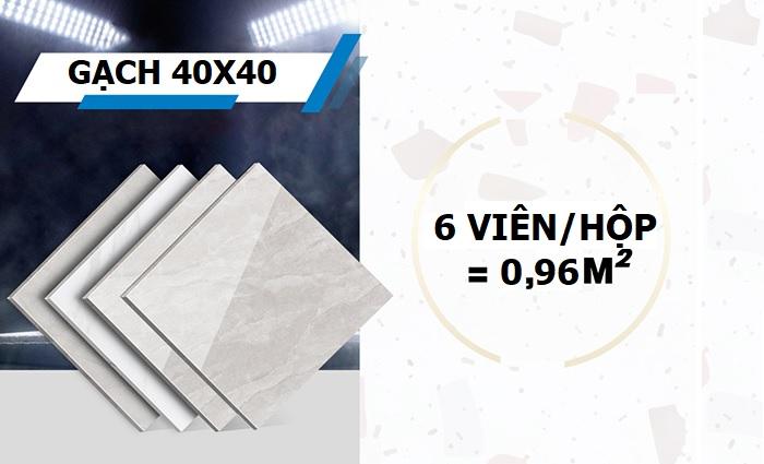 1 hộp gạch 400x400 bao nhiêu viên