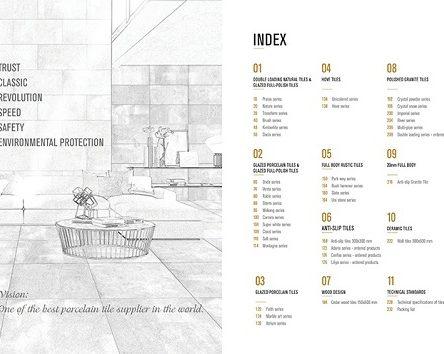 Catalogue gạch Taicera – Cẩm nang hữu ích cho người tiêu dùng