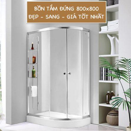 Bồn tắm đứng 800×800 Cao cấp dành cho phòng tắm nhỏ – Đia chỉ mua uy tín