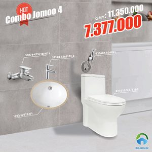 Combo thiết bị vệ sinh Jomoo 4