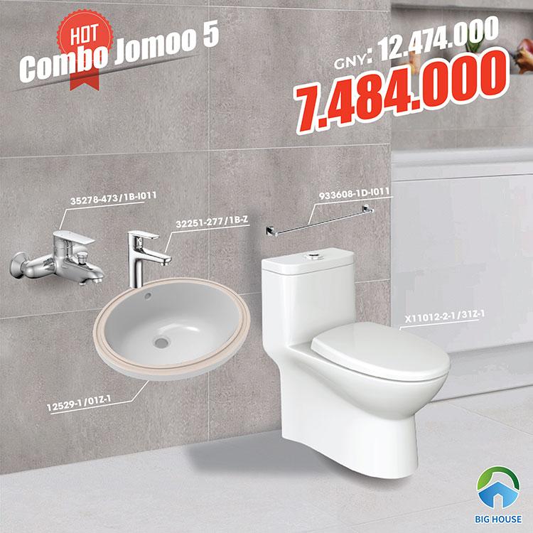 Combo thiết bị vệ sinh Jomoo 5