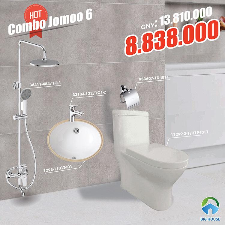 Combo thiết bị vệ sinh Jomoo 6