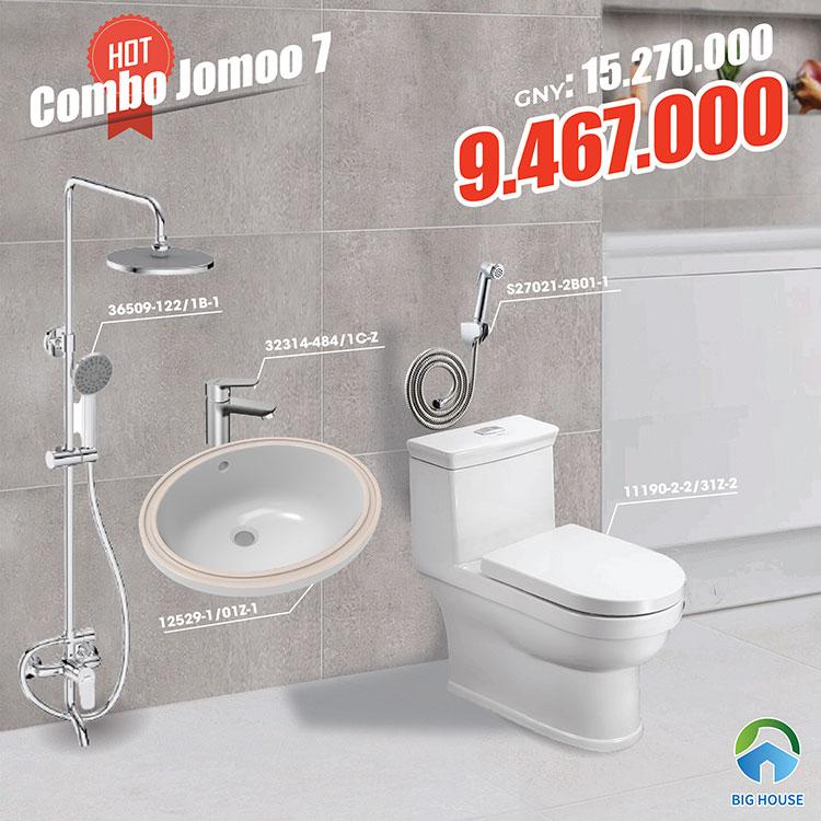 Combo thiết bị vệ sinh Jomoo 7