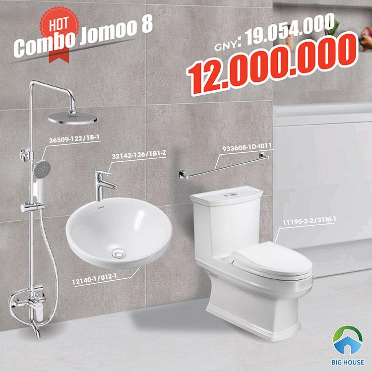 Combo thiết bị vệ sinh Jomoo 8