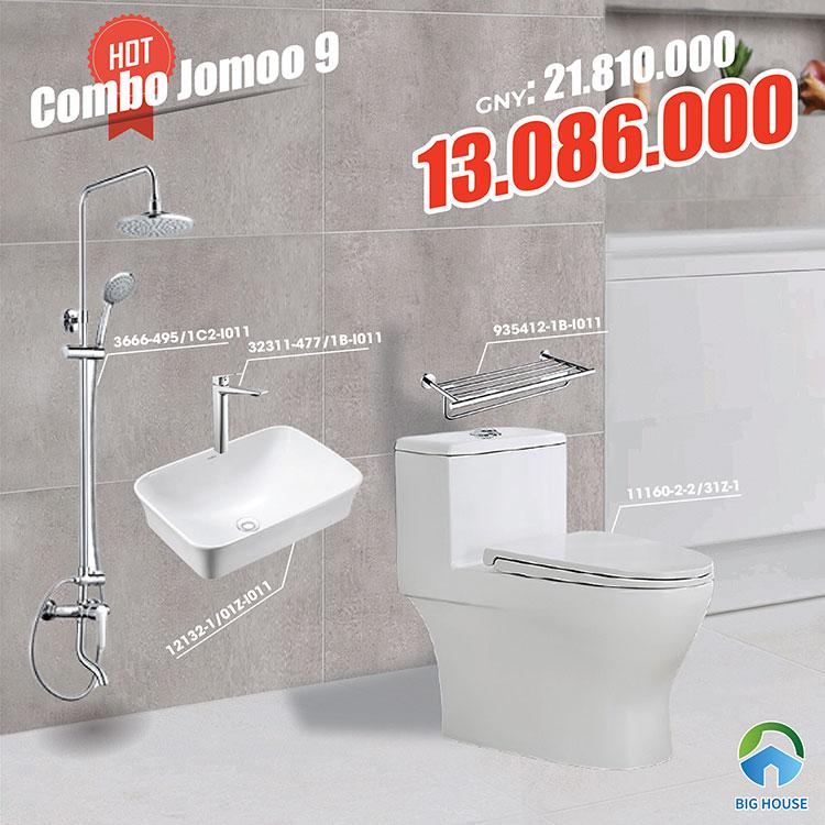 Combo thiết bị vệ sinh Jomoo 9