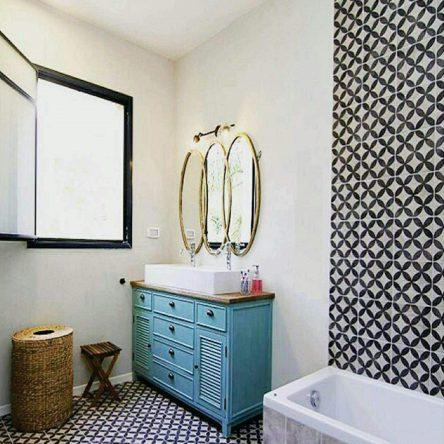 Gạch bông ốp nhà vệ sinh: Top mẫu ĐẸP – lưu ý lựa chọn