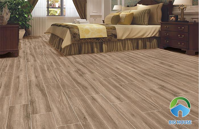 Mẫu gạch vân gỗ lát nền Ý Mỹ 15×60 P1565058SH