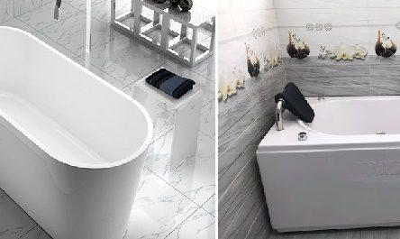 Mẫu bồn tắm 1m4 nhỏ gọn, chất lượng tốt nhất kèm báo giá chi tiết
