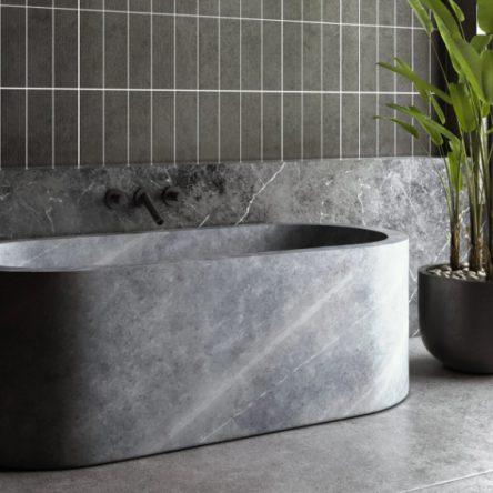 Mẫu bồn tắm đá tự nhiên, nhân tạo đẹp, giá rẻ nhất 2021