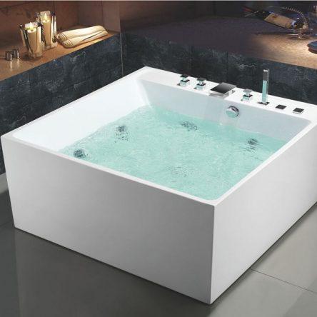 Các mẫu bồn tắm vuông đẹp hiện đại, ấn tượng nhất 2021
