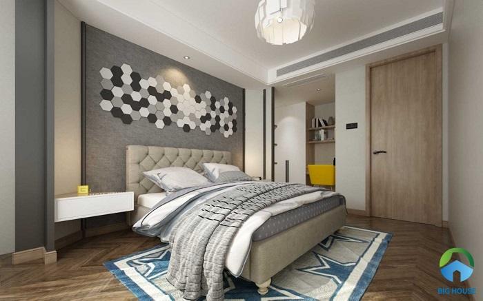 Lựa chọn ốp tường bằng gạch trang trí lục giác với 3 màu cơ bản