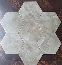 giá gạch hình lục giác vân đá FI238S